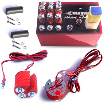 Magnum Magic-Spark Plug Booster Performance Kit Hyosung GT650R Ignition Intensifier - Authentic