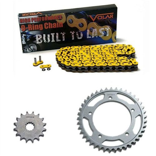 2007-2014 Triumph Tiger 1050 O-Ring Chain and Sprocket Kit - Yellow