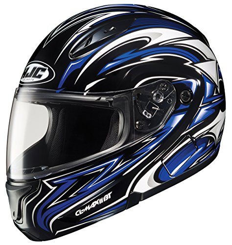 HJC CL-MAXBT II Atomic Bluetooth Modular Motorcycle Helmet MC-2 XXX-Large
