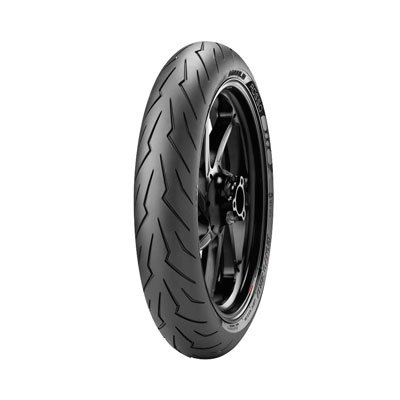 12070ZR-17 58W Pirelli Diablo Rosso 3 Front Motorcycle Tire for Ducati 796 Monster 2010-2014