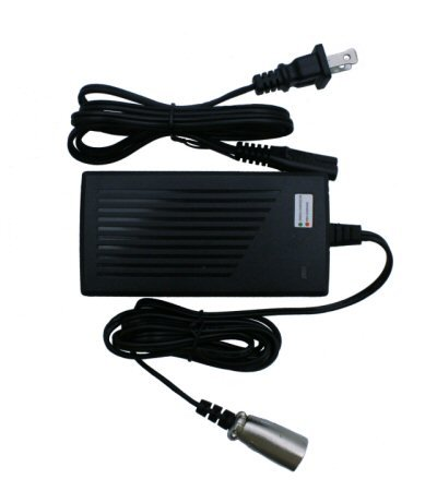 36V 16Ah 4-Pin XLR Electric Scooter Charger