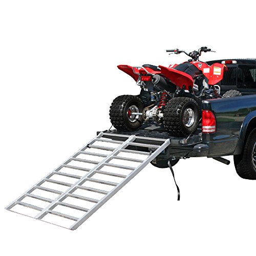 Rage Powersports IBF-7148 Bi-Fold Truck or Trailer ATV Loading Ramp 71 x 48 Aluminum