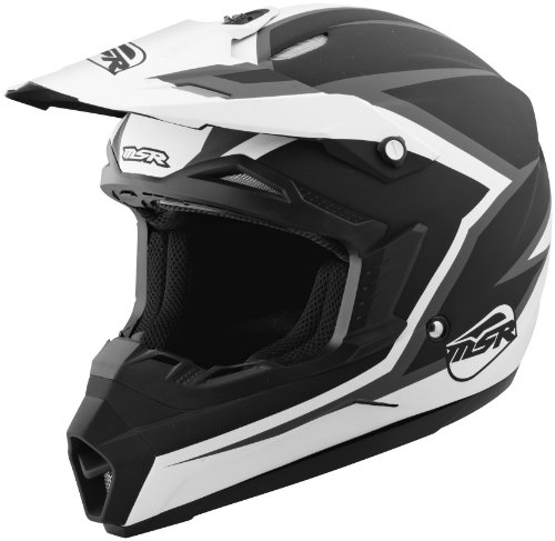 MSR Helmet Visor for Assault Graphic Helmet - BlackWhite 359400