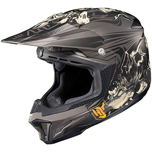 HJC El Lobo Mens CL-X7 MotoXOff-RoadDirt Bike Motorcycle Helmet - MC-5F  2X-Large