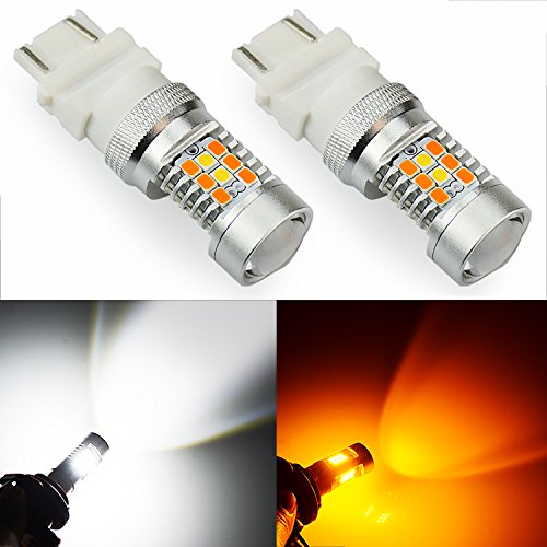 JDM ASTAR Extremely Bright PX Chipsets WhiteYellow 3157 3155 3457 4157 Switchback LED Bulbs For Turn Signal Lights