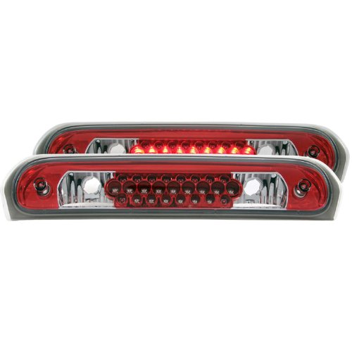 Anzo USA 531007 Dodge Ram LED RedClear Third Brake Light Assembly