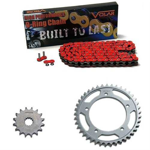 2002-2003 Honda CBR954RR O-Ring Chain and Sprocket Kit - Red