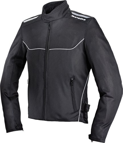 Spidi Netix Mens Black Mesh Jacket - X-Large