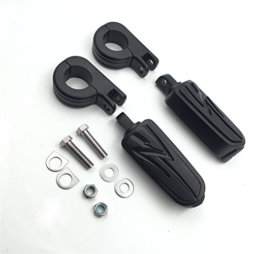 Motorcycle 15 Radical Flame Foot Pegs P Clamps mounting Bracket For TRIUMPH SUZUKI VL1500 VL800 VZ800 new