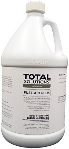 Fuel Aid Plus Fuel Injector Cleaner and Conditioner for Gasoline - 4 Gallons